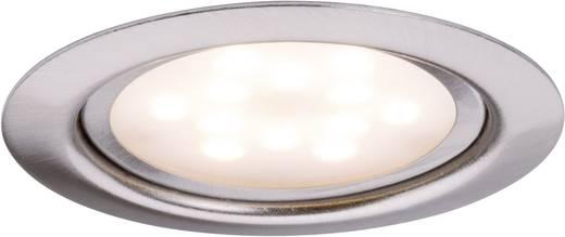 Meubelinbouwset LED 1x 4,5 W 6 VA 230 V/350 mA 65 mm ijzer geborsteld/metaal