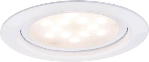 Meubelinbouwset LED 1x 4,5 W 6 VA 230 V/350 mA 65 mm wit/metaal