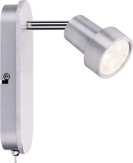 Spot Arioso balk 1x 3 W geborsteld aluminium 230 V metaal