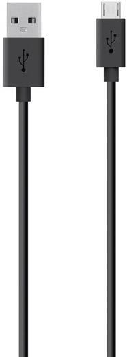 Belkin USB 2.0 Aansluitkabel [1x USB 2.0 stekker A - 1x USB 2.0 stekker micro-B] 2 m Zwart