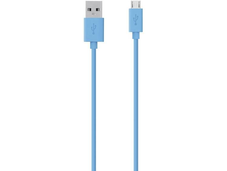Belkin Micro-USB USB ChargeSync Cable, Blue (F2CU012bt2M-BLU)