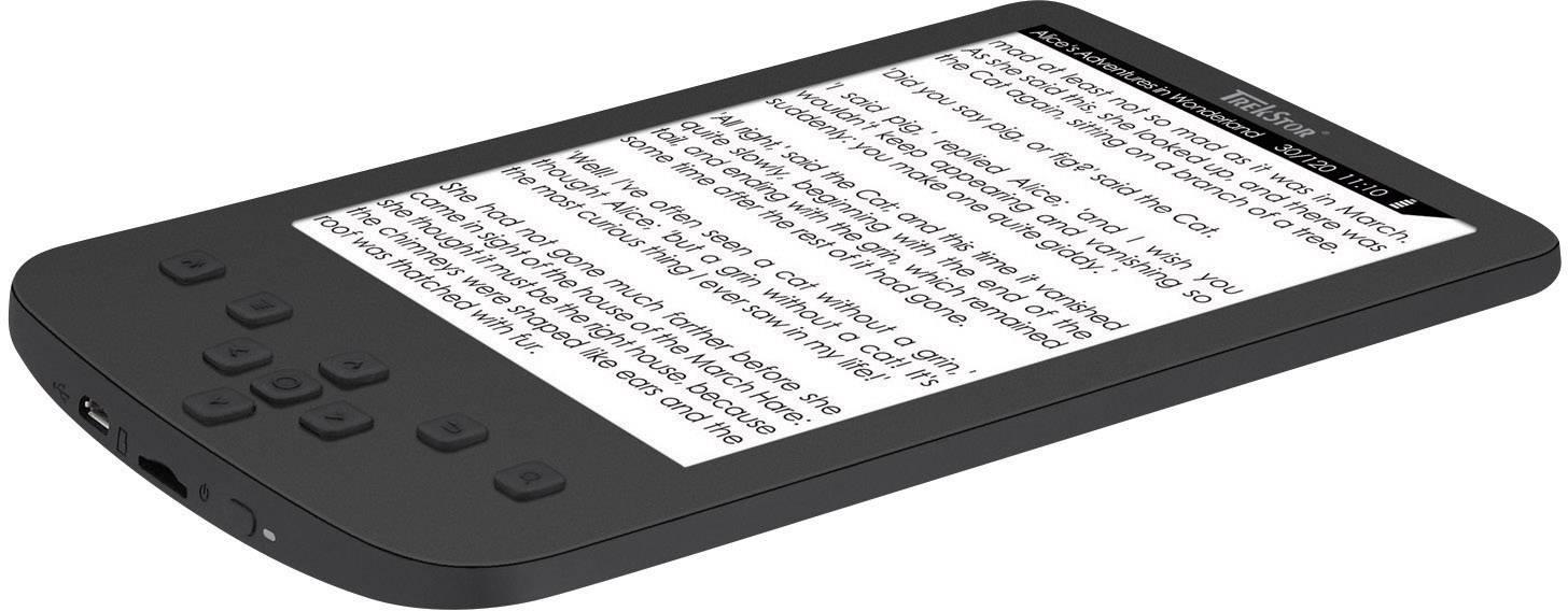 Trekstor eBook-Reader Pyrus LED 15.2 cm (6) zwart   Conrad.nl