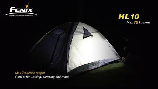 LED Hoofdlamp Fenix HL10 werkt op