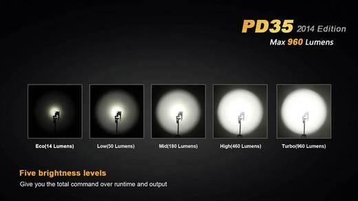 Fenix PD35 LED Zaklamp werkt op batterijen 960 lm 150 h 87 g