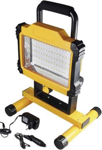 led accu bouwlamp 1700 led accu bouwlamp 1700 SMD LED Geel-zwart