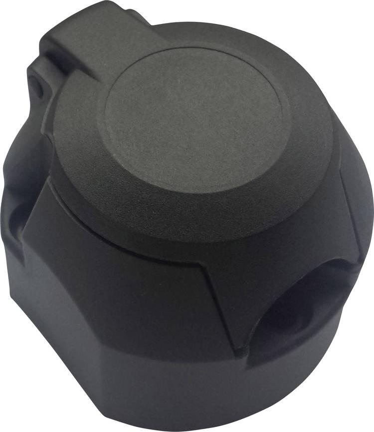 Image of Aanhangerstopcontact [Stekkerdoos, 7-polig - Stekker, 7-polig] SecoRut 20140 ABS kunststof