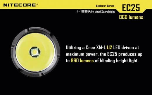 LED Zaklamp NiteCore EC25 Cobra 860 lm 122 g Zwart