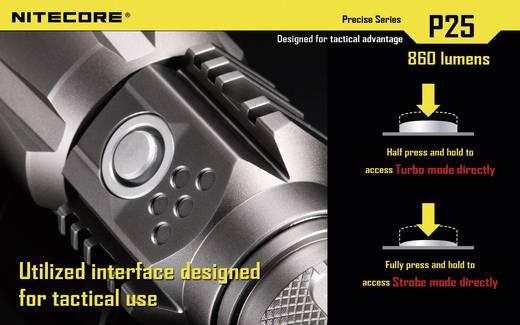NiteCore P25B Smilodon LED Zaklamp werkt op batterijen 860 lm 325 h 171 g