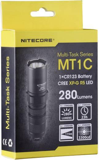 NiteCore Multi Task MT1C LED Mini-zaklamp werkt op batterijen 280 lm 23 h 42 g