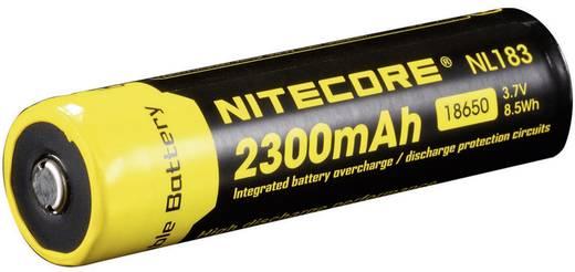 NiteCore NL183 Speciale oplaadbare batterij 18650 Li-ion 3.7 V 2300 mAh
