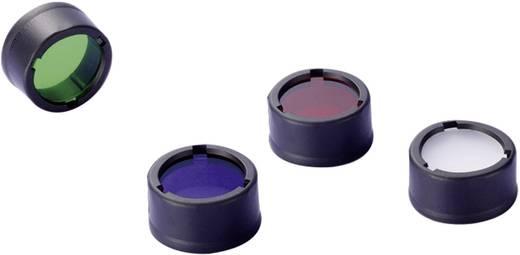 NiteCore roodfilter 23 mm NFR23 voor MT1A, MT2A, MT1C en zaklampen met een Ø 23 mm