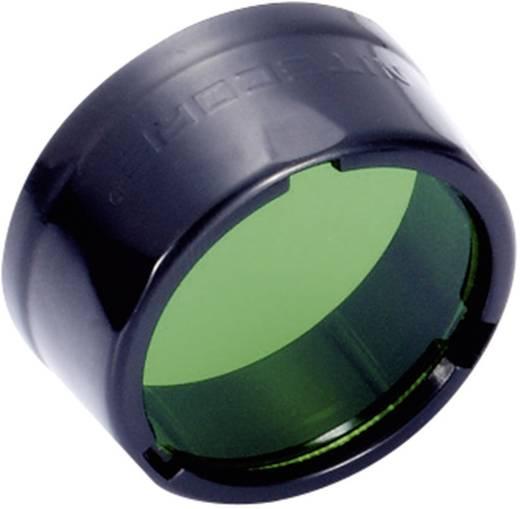 NiteCore groenfilter 25 mm NFB25 voor EC1, EC2, EA1, EA2, MT2C, P12, SRT3, SRT5 en zaklampen met een Ø 25 mm