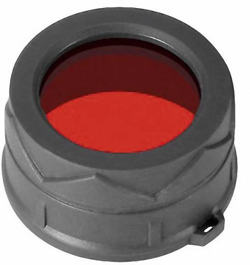 NiteCore roodfilter 34 mm NFR34 voor MT25, MT26, SRT6 en zaklampen met een Ø 33 - 36 mm