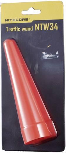 NiteCore waarschuwingsstaaf 34 mm NTW34 voor MT25, MT26, SRT6 en zaklampen met een Ø 33 - 36 mm