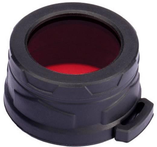 Kleurfilter Rood Geschikt voor: MH25, EA4, P25, P16, P15, SRT7, CR6, CG6, CB6, CI6, CU6 en zaklampen met een Ø 39 - 42 m