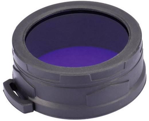 NiteCore blauwfilter 60 mm NFG60 voor MH40, TM11, TM15, EA8 en zaklampen met een Ø van 59-62 mm