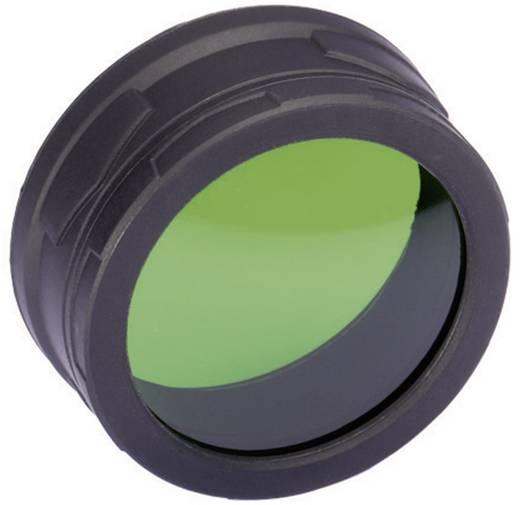 Kleurfilter Groen Geschikt voor: MH40, TM11, TM15, EA8 en zaklampen met een Ø van 59-62 mm NiteCore NITNFG60