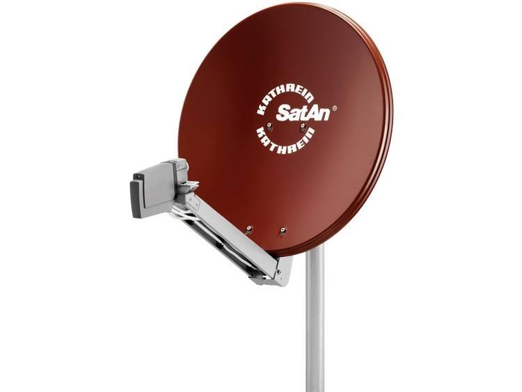 Kathrein CAS 80 Satellietschotel 75 cm Reflectormateriaal Aluminium Rood bruin