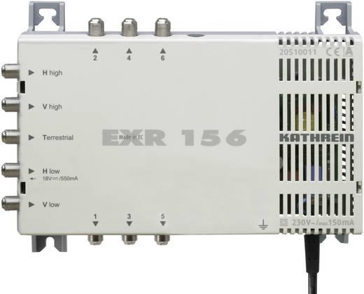 Kathrein EXR 156 Satelliet multiswitch Ingangen (satelliet): 5 (4 satelliet / 1 terrestrisch) Aantal gebruikers: 6