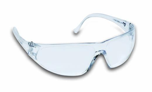 Cimco Veiligheidsbril kleurloos/transp.Breukvaste kunststofGlas 140205