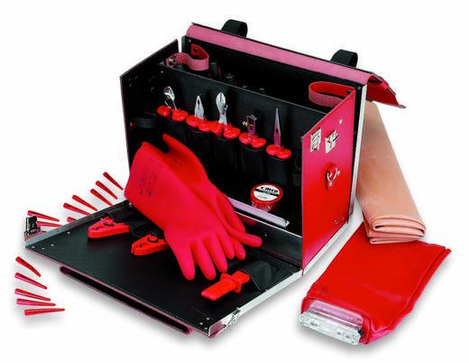 Cimco Rundleer gereedschapskoffer met veiligheidsgereedschap 49 delig