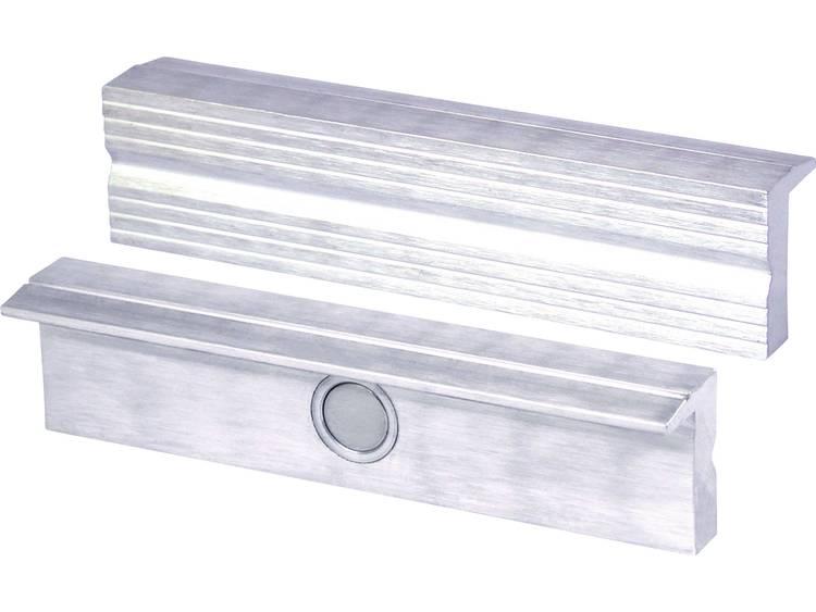 Magnetisch bankschroefbekken van aluminium Heuer 110100 Klauwbreedte:100 mm Spanbreedte (klembekken)