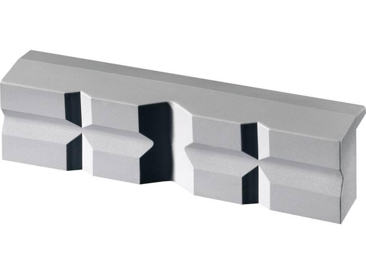 Magneetklem Polyuretaan met prisma Heuer 108140 Klauwbreedte:140 mm Spanbreedte (klembekken):Schraub