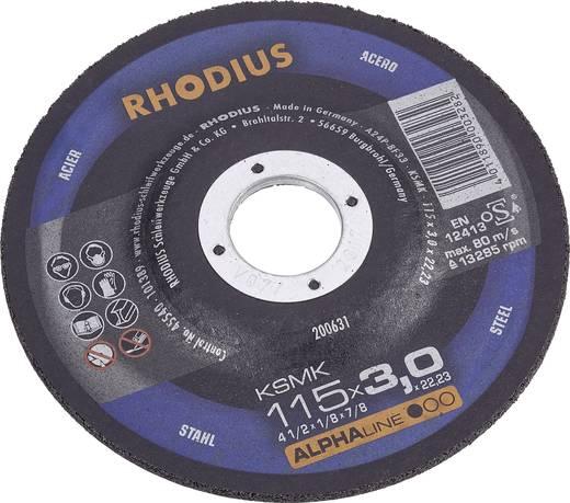 Losse slijpschijf voor metaal Rhodius 200631 Diameter 115 mm 1 stuks
