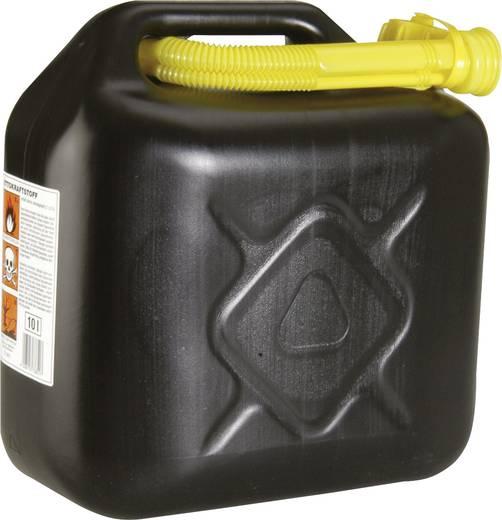 Benzinejerrycan kunststof Inhoud 10 l