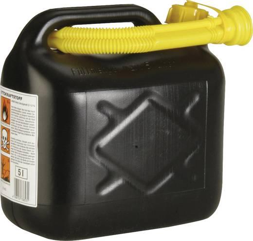Benzinejerrycan kunststof Inhoud 5 l