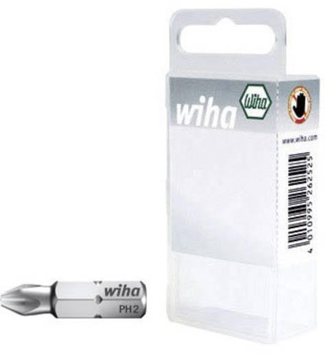 Wiha 7011-922 SB-KARTE 3TLG. PH 2 Kruis-bit PH 2 Chroom-vanadium staal gehard C 6.3 3 stuks