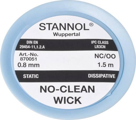 Stannol NC/OO Desoldeerdraad Lengte 1.5 m Breedte 0.8 mm 1 stuks