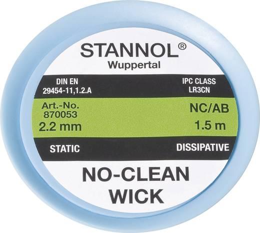 Stannol NC/AB Desoldeerdraad Lengte 1.5 m Breedte 2.2 mm 1 stuks