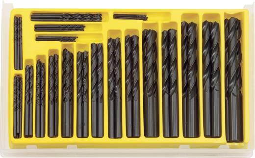 812086 HSS Metaal-spiraalboorset 102-delig DIN 338 Cilinderschacht 1 set