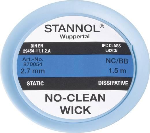Stannol NC/BB Desoldeerdraad Lengte 1.5 m Breedte 2.7 mm 1 stuks