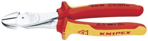 Knipex VDE-KRAFTSEITENSCHNEIDER 74 06 180 VDE Kracht-zijsnijtang met facet 180 mm