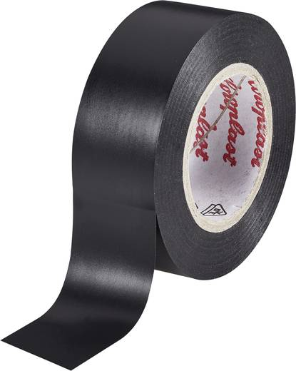 Coroplast Isolatietape Zwart (l x b) 10 m x 15 mm Acryl Inhoud: 1 rollen