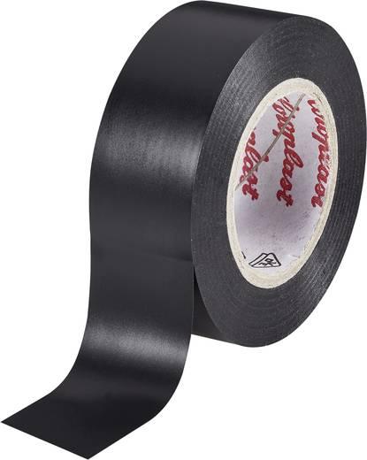 Coroplast PVC-plakband Zwart (l x b) 10 m x 19 mm Acryl Inhoud: 1 rollen