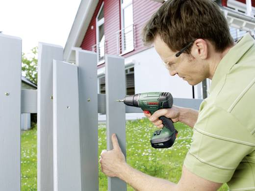 Accuschroefboormachine Bosch Home and Garden PSR 14,4 LI incl. 2 accu's, incl. accessoires, incl. koffer 14.4 V 1.5 Ah L