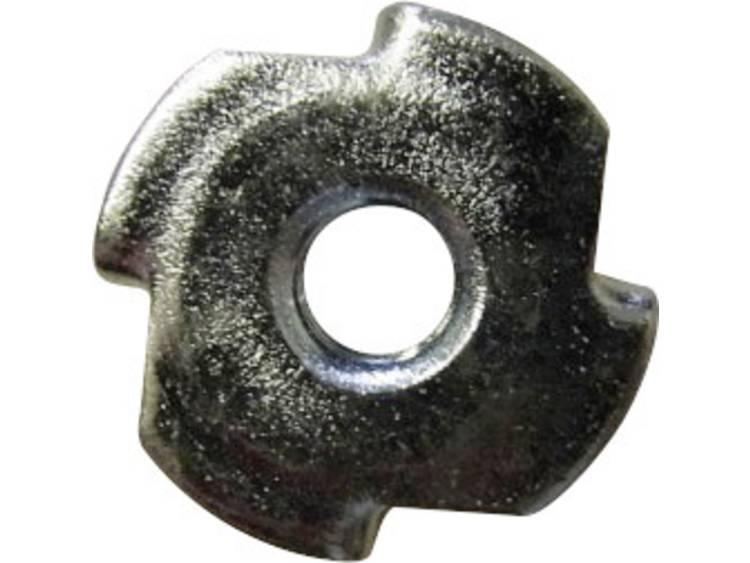 Inslagmoeren M4 Staal