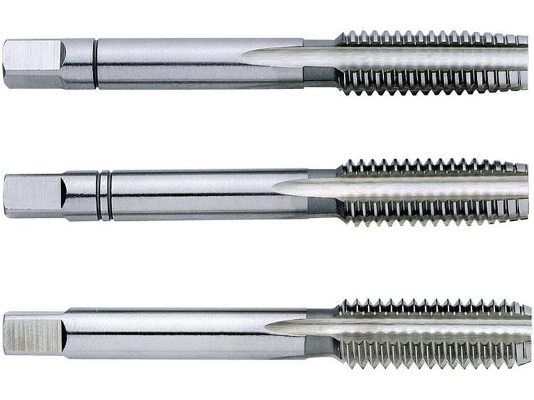Exact 1610004 Handtapset 3-delig metrisch M3 0.5 mm Rechtssnijdend DIN 352 HSS 1 set kopen