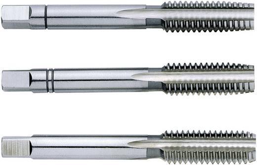 Handtapset 3-delig metrisch M5 0.8 mm Rechtssnijdend Exact 1610012 DIN 352 HSS 1 set