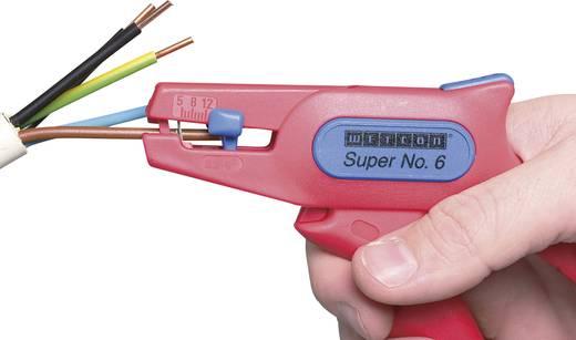 VDE-striptang Geschikt voor Kabel met PVC-isolatie 0.2 tot 6 mm² 10 tot 24 WEICON TOOLS No.6 51000006-KD