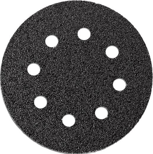 Excenterschuurpapier met klittenband, geperforeerd Korrelgrootte 60 (Ø) 115 mm Fein 63717234010 12 stuks
