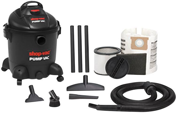 ShopVac Pump vac 30 5870829 Nat- en droogzuiger 1400 W 30 l Geïntegreerde pomp