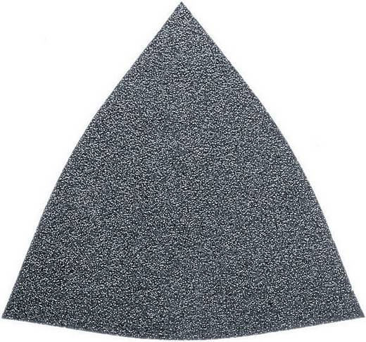 Delta schuurpapier met klittenband, ongeperforeerd Korrelgrootte 60 Hoekmaat 80 mm Fein 63717082011 50 stuks