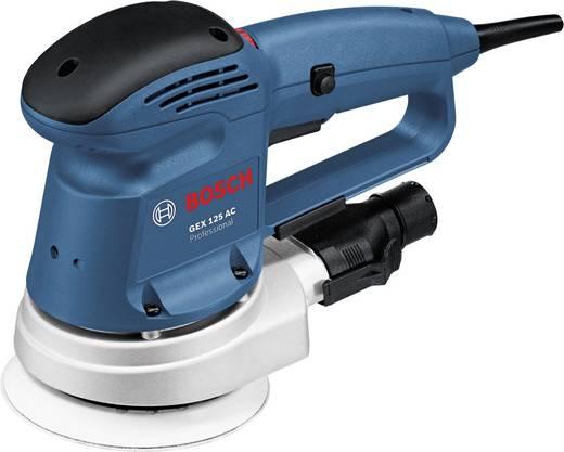 Excentrische schuurmachine 340 W Bosch Professional GEX 125 AC 0601372565 Ø 125 mm
