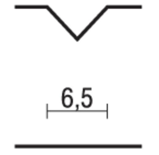 Proxxon Micromot 29 032 HSS V-groevenfrees Schacht-Ø 3 mm