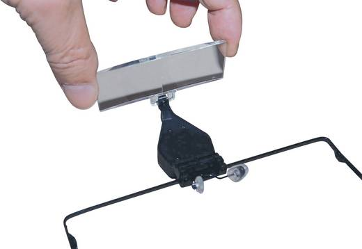 Loepbril Met LED-verlichting Vergrotingsfactor: 1.5 x, 2.5 x, 3.5 x<