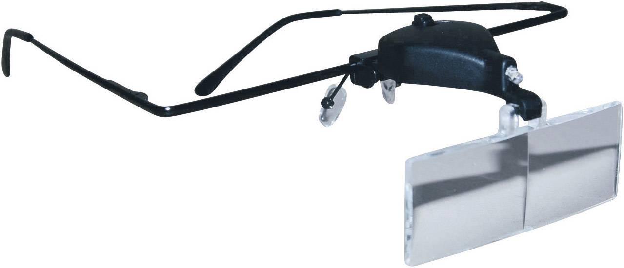 Loepbril Met LED-verlichting Vergrotingsfactor: 1.5 x, 2.5 x, 3.5 x ...
